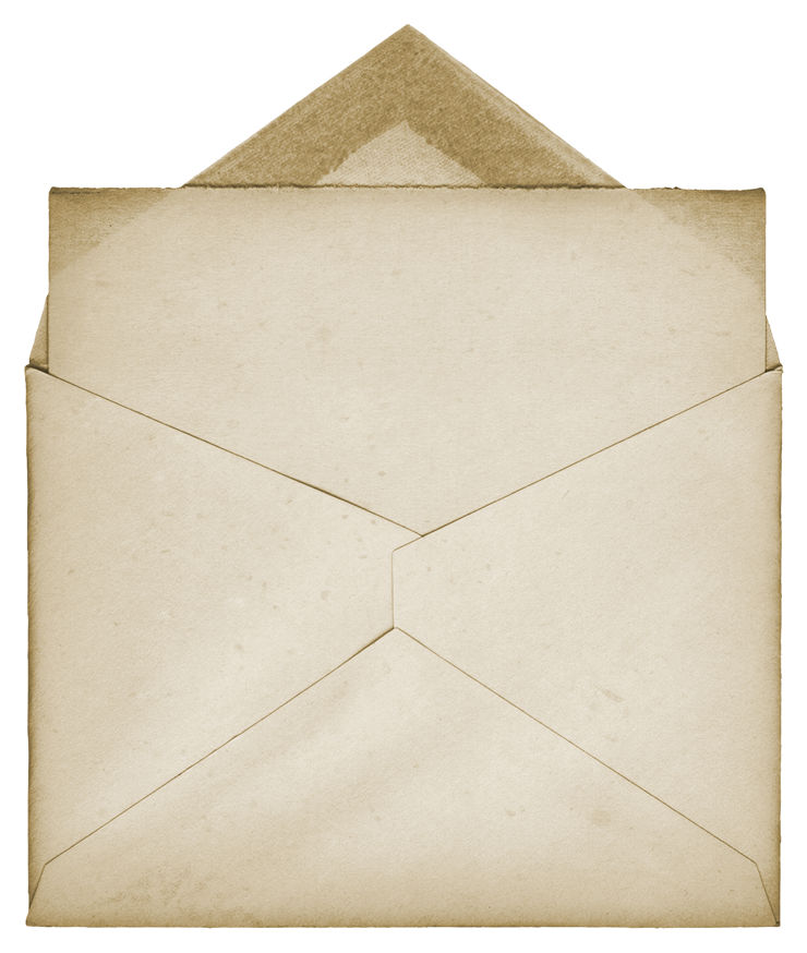 Old Paper Envelope