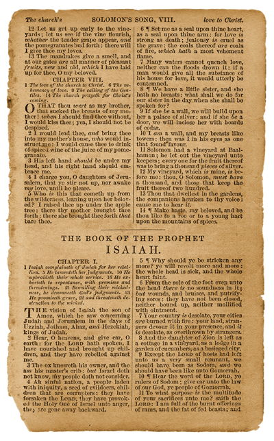 Vintage Bible Paper Page