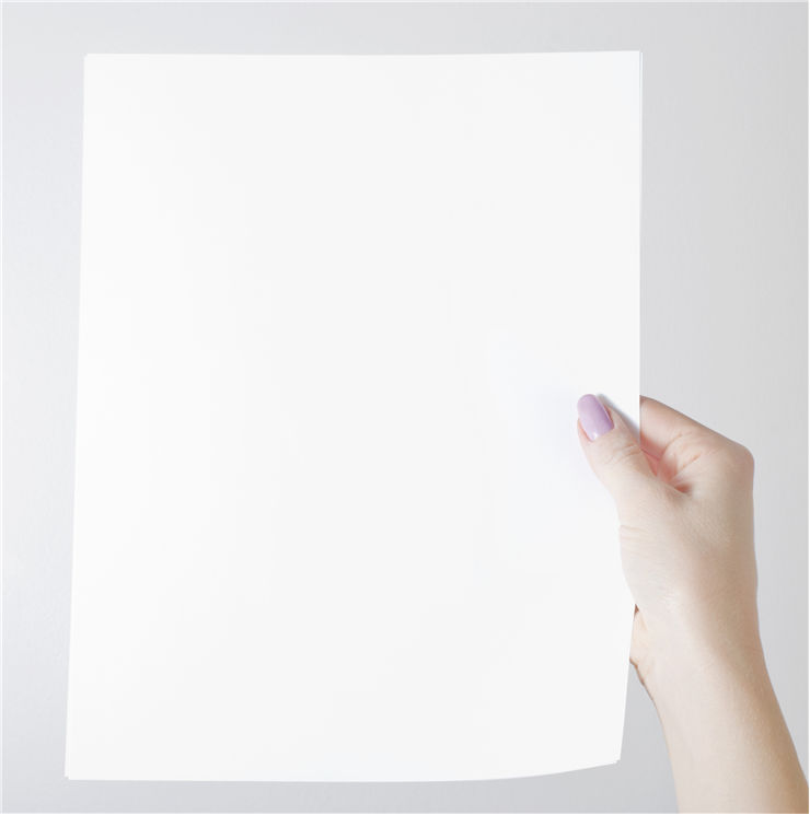 White Paper Page